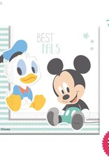 Procos Infant Mickey - Party Napkins 20Ct