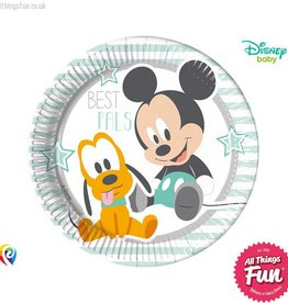 Procos Infant Mickey - Party Paper Plates 8Ct