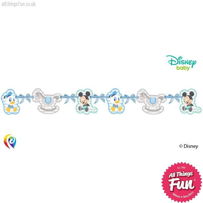 Procos Infant Mickey - Silhouette Die-Cut Banner