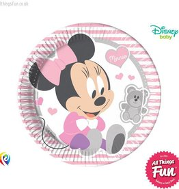 Procos Infant Minnie - Party Paper Plates (23cm) 8Ct