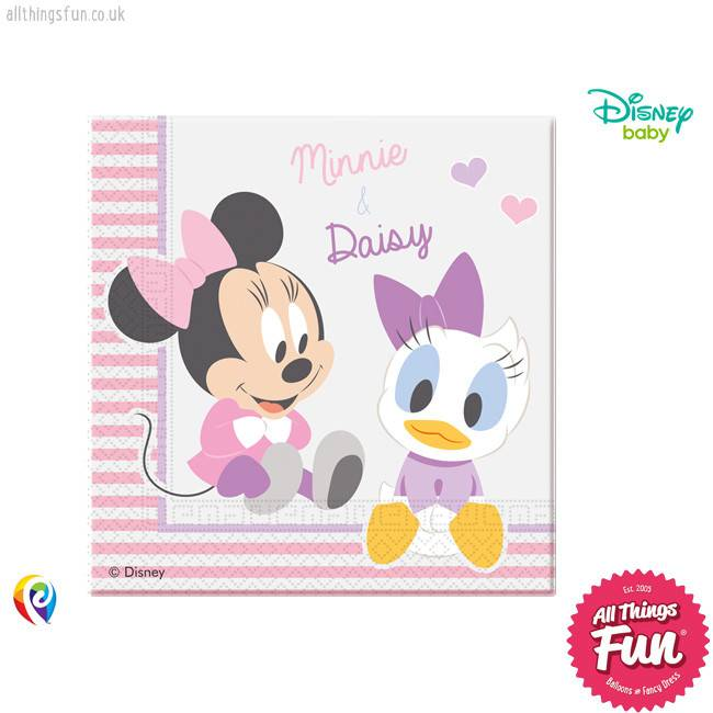 Procos Infant Minnie - Party Napkins 20Ct