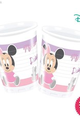 Procos Infant Minnie - Plastic Cups 200Ml