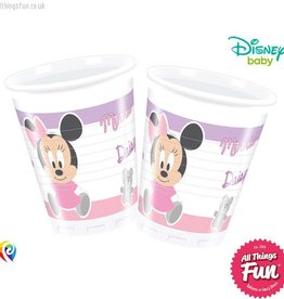 Procos Infant Minnie - Plastic Cups 200Ml