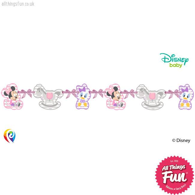 Procos Infant Minnie - Silhouette Die-Cut Banner