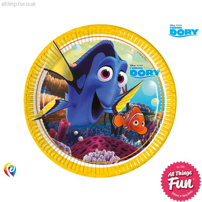 Procos *DISC* Finding Dory - Party Paper Plates 8Ct