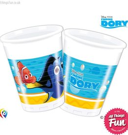 Procos *DISC* Finding Dory - Party Plastic Cups 8Ct