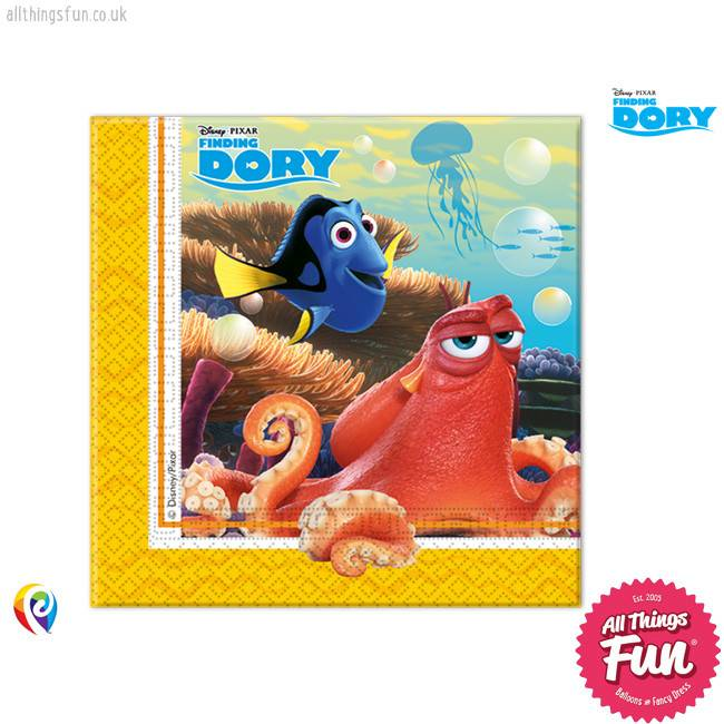Procos *DISC* Finding Dory - Party Napkins 20Ct