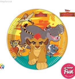 Procos The Lion Guard - Paper Plates Large 23Cm