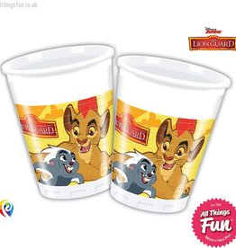 Procos The Lion Guard - Plastic Cups 200Ml