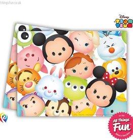 Procos *DISC* Tsum Tsum - Plastic Tablecover 120X180Cm
