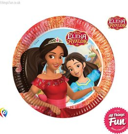 Procos Elena Of Avalor - Party Paper Plates 8Ct