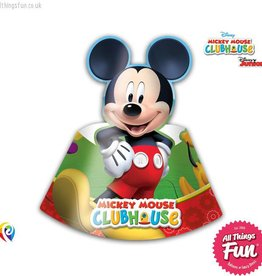 Procos Playful Mickey - Party Hats 6Ct