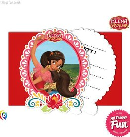 Procos Elena Of Avalor - Invitations & Envelopes 6Ct