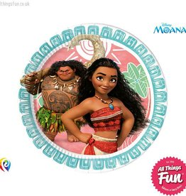 Procos Moana - Party Paper Plates (23cm) 8Ct