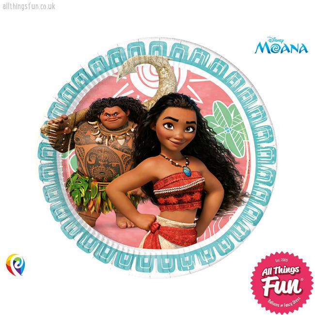 Procos Moana - Party Paper Plates 8Ct