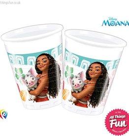 Procos Moana - Party Plastic Cups 8Ct