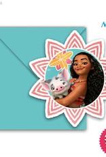 Procos Moana - Invitations & Envelopes 6Ct