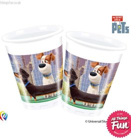 Procos *DISC* The Secret Life Of Pets - Party Plastic Cups 8Ct