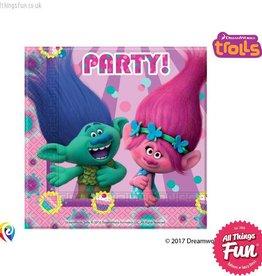 Procos Trolls - Party Napkins 20Ct