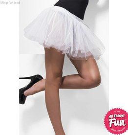 Smiffys White Tutu Underskirt with 4 Layers
