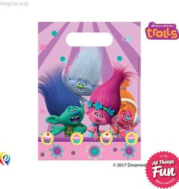 Procos Trolls - Party Bags 6Ct