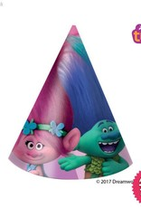 Procos Trolls - Hats Party 6Ct