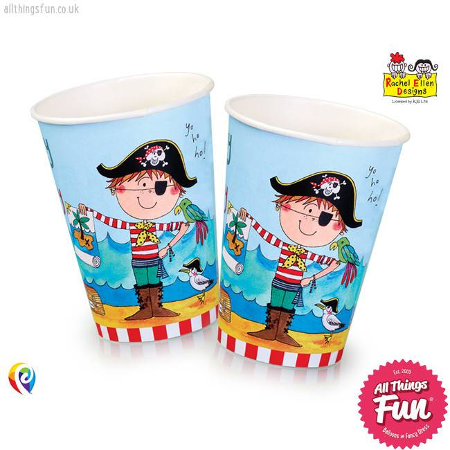 Pioneer Balloon Company Paper Cups - Pirate