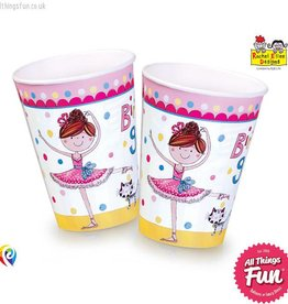 Pioneer Balloon Company Paper Cups - Ballerina
