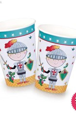 Pioneer Balloon Company Paper Cups - Knight