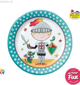 Pioneer Balloon Company Paper Plates - Knight