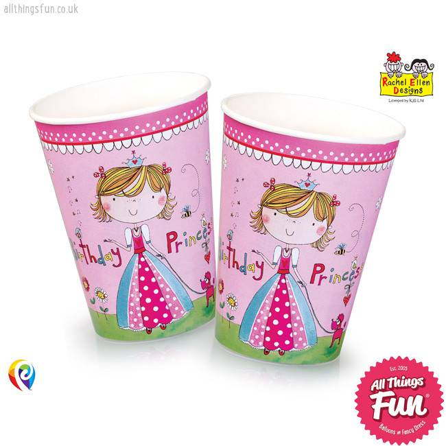 Pioneer Balloon Company Paper Cups - Princess