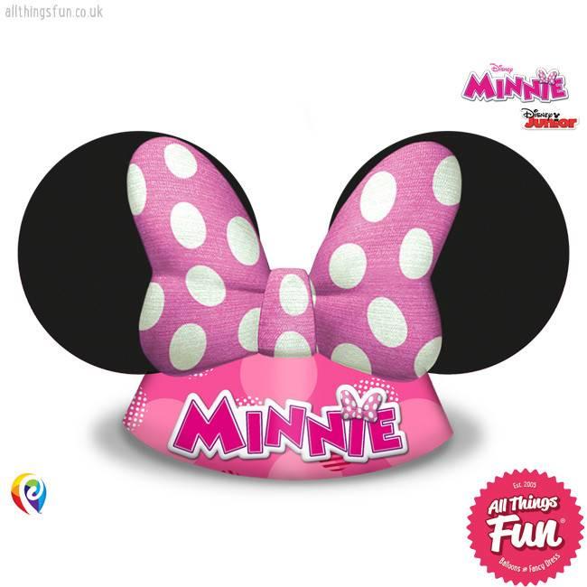 Procos Disney Minnie Mouse - Hats Party 6Ct