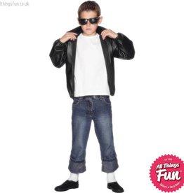 Smiffys Child's Grease T-Birds Jacket