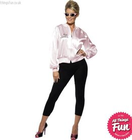 Smiffys Adult Grease Pink Ladies Jacket