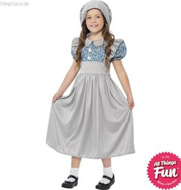 Smiffys Victorian School Girl Costume