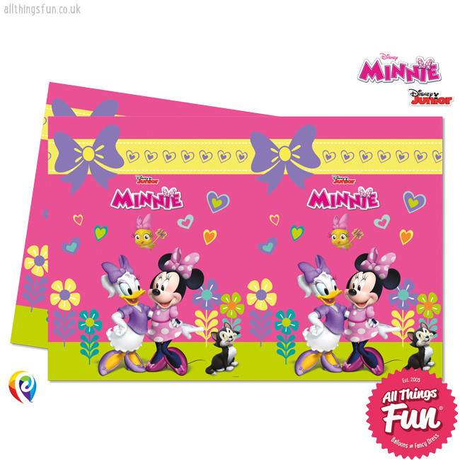 Procos Disney Minnie Mouse - Party Table Cover 1Ct