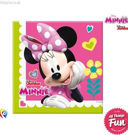 Procos Disney Minnie Mouse - Party Napkins 20Ct