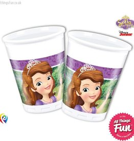 Procos Sofia The First - Party Plastic Cups 8Ct