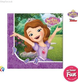 Procos Sofia The First - Party Napkins 20Ct