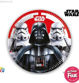 Procos Star Wars - Party Paper Plates (23cm) 8Ct