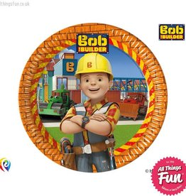 Procos Bob The Builder - Party Paper Plates (23cm) 8Ct