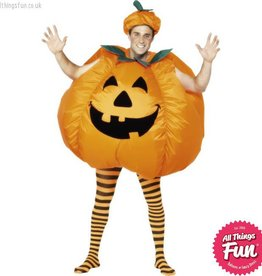 Smiffys Pumpkin Inflatable Costume