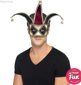 Smiffys Gothic Venetian Harlequin Eyemask