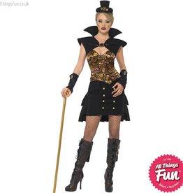 Smiffys *DISC* Steam Punk Victorian Vampiress Costume