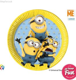 Procos Lovely Minions - Plates Paper Large (23cm) 8Ct