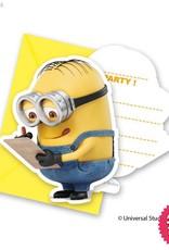 Procos Lovely Minions - Invitations & Envelopes 6Ct