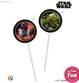 Procos Star Wars - Drinking Straws 6Ct