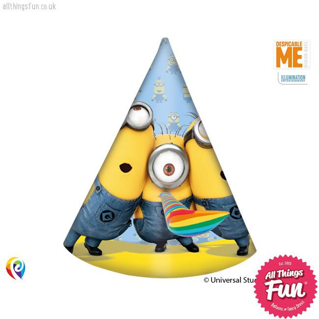 Procos Lovely Minions - Hats Party 6Ct