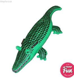 Smiffys Inflatable Crocodile 140cm