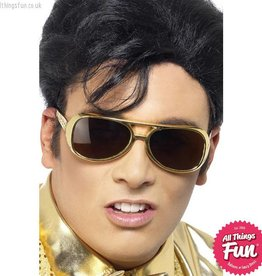 Smiffys Elvis Shades Gold